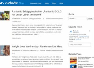 Runtastic-Blog