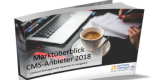Marktüberblick CMS-Anbieter 2018