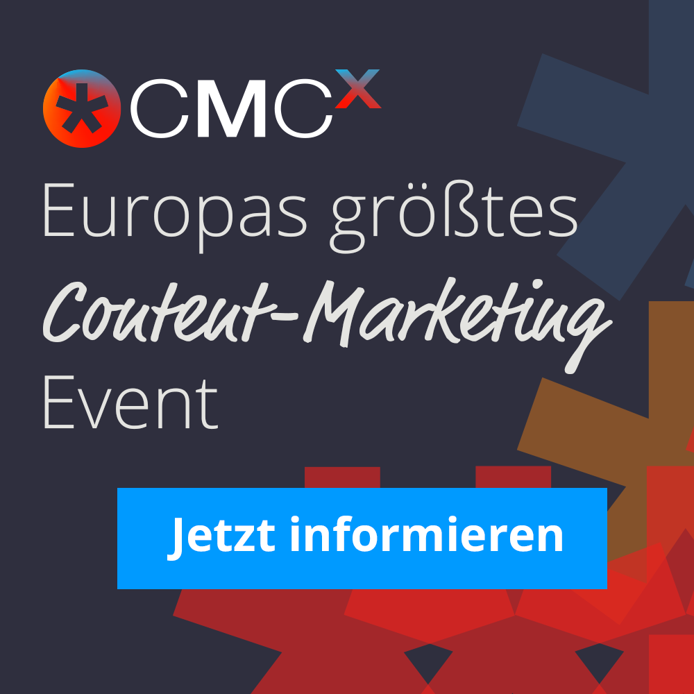 CMCX -Europas größtes Content-Marketing Event