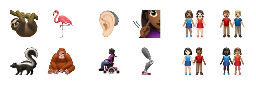 Neue Apple Emojis